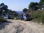 Currila Wasserwerke, Kazai Agim Hoxha Mafia zerstört die Zone Touristik in 2012