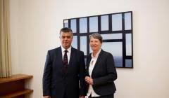Gangster und der Lesben Club der SPD HIrnlosen: Lefter Koka, Barbara Hendricks