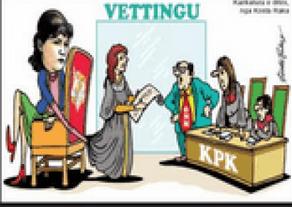 """Besar Likmeta, über die Manipulationen beim """"Vetting"""" ohne Kriterien undTranparenz"""