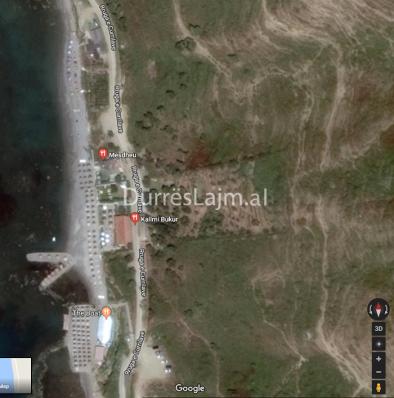 Kallmi Strände Nördlich Durres, das selbe Desaster, ohne Baugenehmigungen