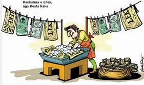 Geldwäsche Paradies und der Niedergang des Verbrecher Staates: USA inAlbanien