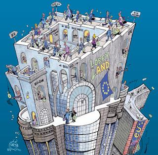 """Die Kriegs EU Politik, der """"Dumm Quoten"""" Frauen Bande von Brüssel bis nachBerlin"""