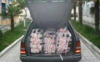 100 Kilo Heroin, im Mercedes des Hekura Hoxha, trotzdem Freie Fahrt nach Deutschland zu seinem Mafia Clan: 2006