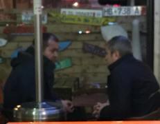 Chef der Strassenbehörde: Afrim Qendro und Mafia Minister: Damian Gjiknuri