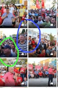 Wahlkampf Edi Rama: Shiak: Admir Hoxha