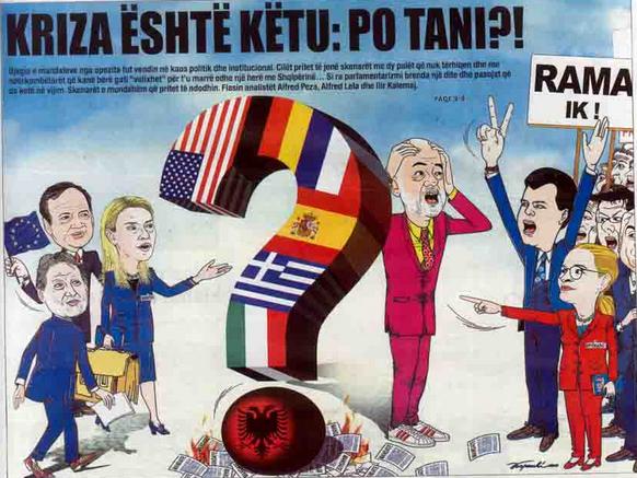 Das Debakel einer korrupten EU,Berliner, US Politik im SüdBalkan