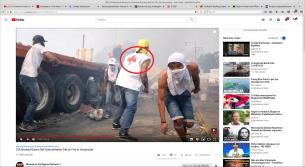 Venezuel-Kolumbien: Fake Rote Kreuz Mitarbeiter