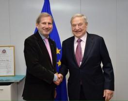 Johannes Hahn, Georg Soros