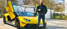 Abu Bakr Baletz, Hamburg, ohne Beruf, ohne Offizielles Einkommen: Lamborgini mit Gold Folie