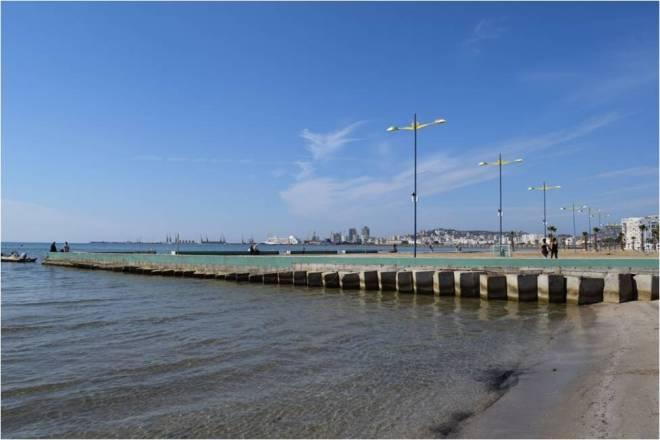 durres strand beton