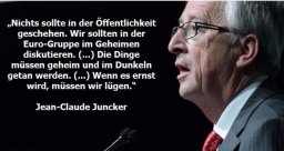 Jean-Claude Juncker. Profi Krimineller der Finanz- und Betrugs Mafia in der EU und für Geldwäsche