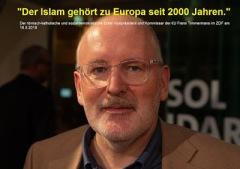 Geschichte: Vor 2.000 Jahren gab es nicht einmal einen Islam, so Dumm sind heute höchste SP Sozi Politiker in der EU