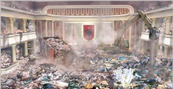 Das Albanische Parlament