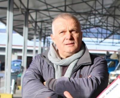 Petrit Cela, Gemüse Markt Besitzer Elbasan, gepanzerte Limosinen, Gross Verbrecher und Mord Clan mit geheimen Tief Garagen