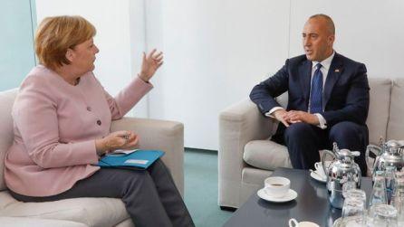 Merkel-Ramuz Haradinaj
