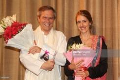 Michael Steiner mit Eliese Steiner (Gashi)