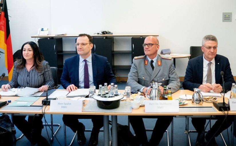 Merkel und ihre apokalyptischen Reiter: Lauterbach, Drosten, Wieler, RKI, WHO, erpresst auch imBalkan