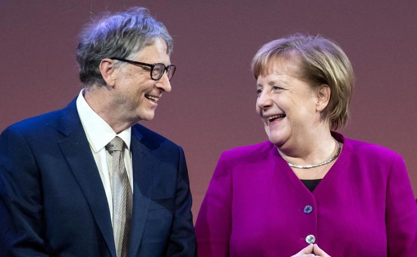 Robert Kennedy, über die Kriegs, Pharma Banden mit Bill Gates, auf der Demo in Berlin am29.8.2020