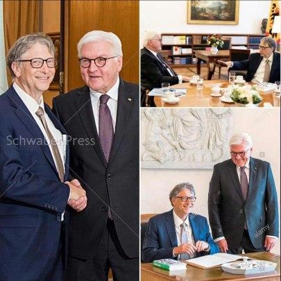 Bill Gates Steinmeier