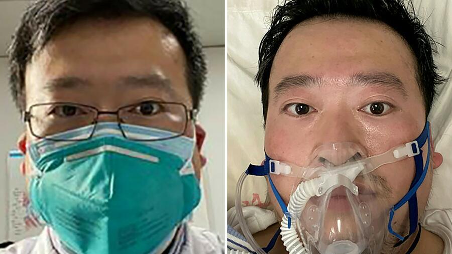 Der Augenarzt Li Wenliang arbeitete im Wuhan